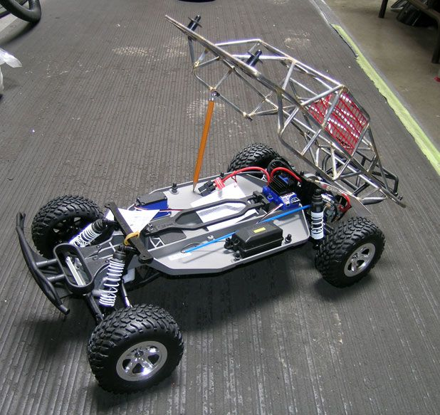Traxxas Slash With Full 3 16 Quot Roll Cage Any Thing Rc