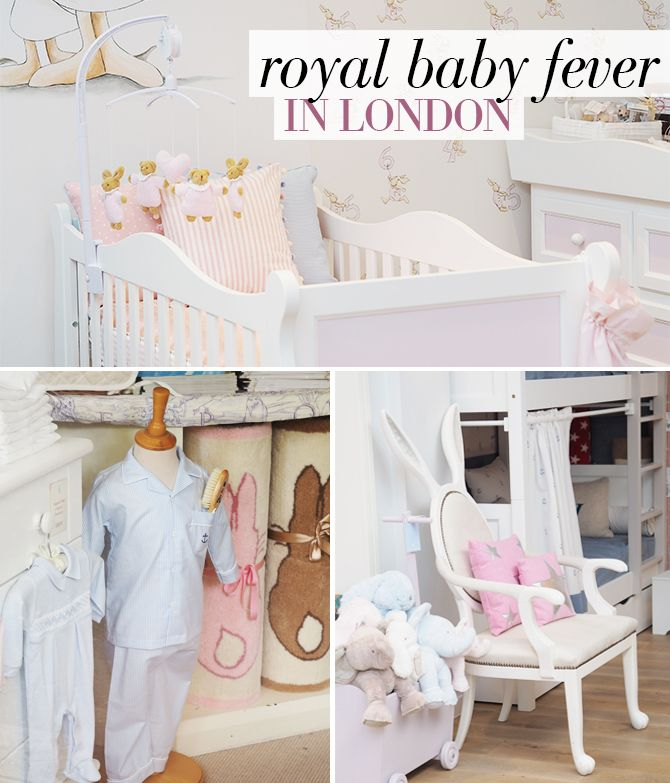 ROYAL BABY FEVER - London: The Knightsbridge boutiques where the Duchess of Cambridge shop for little Prince George and Princess Charlotte...