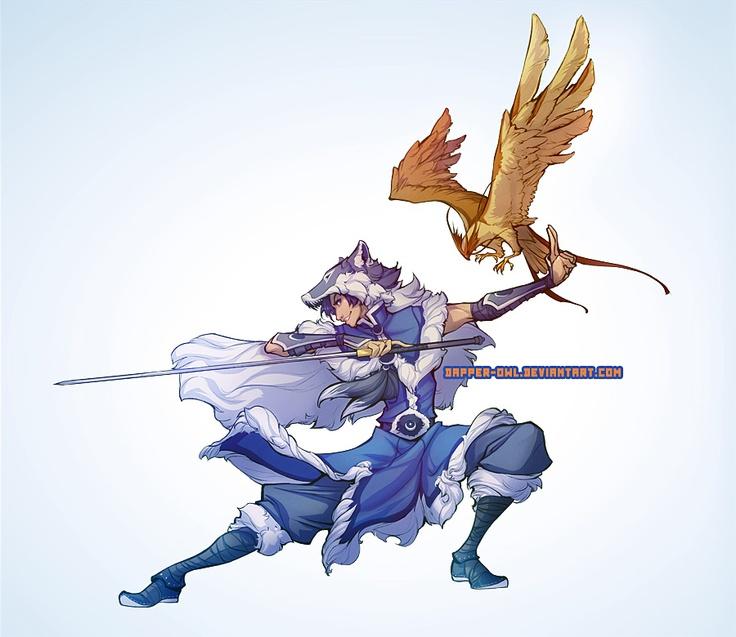 Commission: lithele by dapper-owl.deviantart.com
