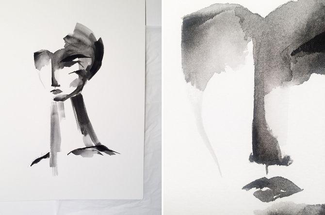 Graphite Portraits. - Marina Guiu