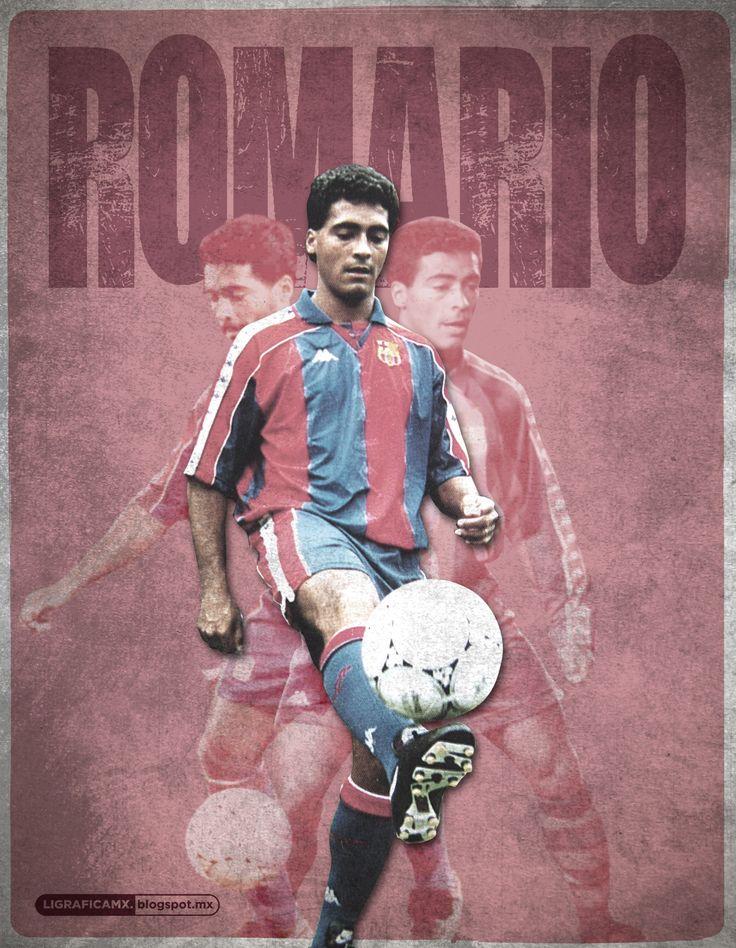 Romário da Souza Faria. #Romario #Barça