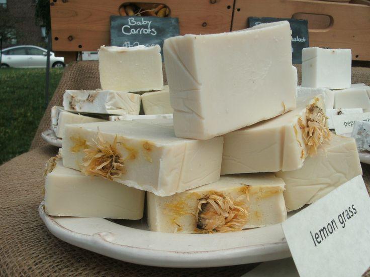 farm made soaps at wychwood barns
