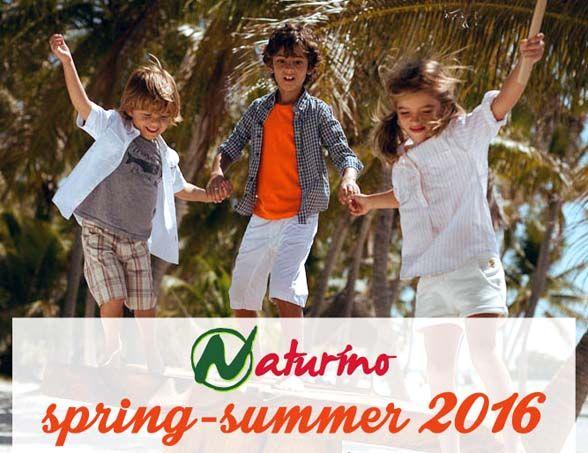 Naturino Spring Summer 2016 collection * Naturino porta la savana ai piedi dei bimbi