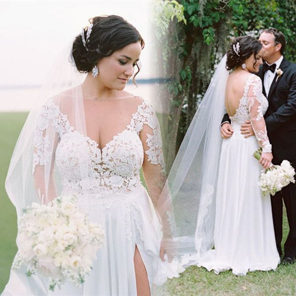 Wholesale Plus Size Bridal Gowns Romantic Wedding Dresses And