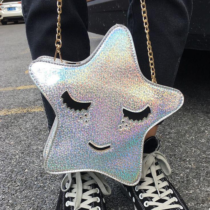 Bolsa Divertida em Forma de Estrela Bolsas Divertidas