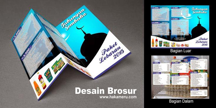 Jasa Desain Brosur ~ Jasa Desain Grafis Online Murah Berkualitas - Hakameru.com