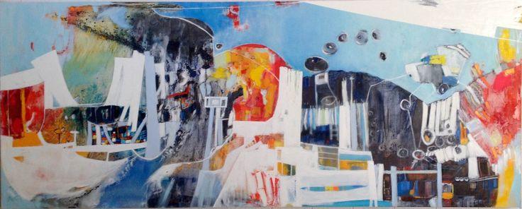 Óleo, arte moderno, arte contemporáneo, chilean art, arte chileno, Chile, color