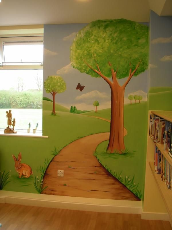 41 best Custom Murals for Primary Schools images on Pinterest | 2nd ...