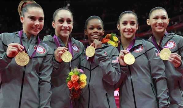 USA Gymnastics Team Wins Gold!