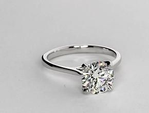 this is absolute perfection petite cathedral solitaire engagement ring setting crafted in 14k yellow gold happy ever after pinterest beautiful - Wedding Ring Setting