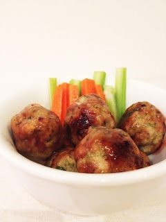 Chicken Bites with Plum Sauce