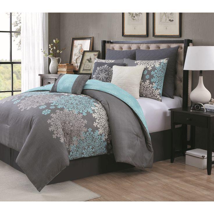 Avondale Manor Amber 9-piece Queen Size Comforter Set
