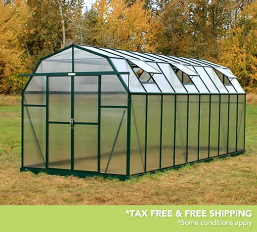 Grandio elite 8x20 greenhouses are now extendable these for Greenhouse styles
