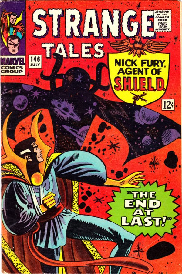 Strange Tales #146 cover by Steve Ditko. 8 Doctor Strange Stories You Should Read.