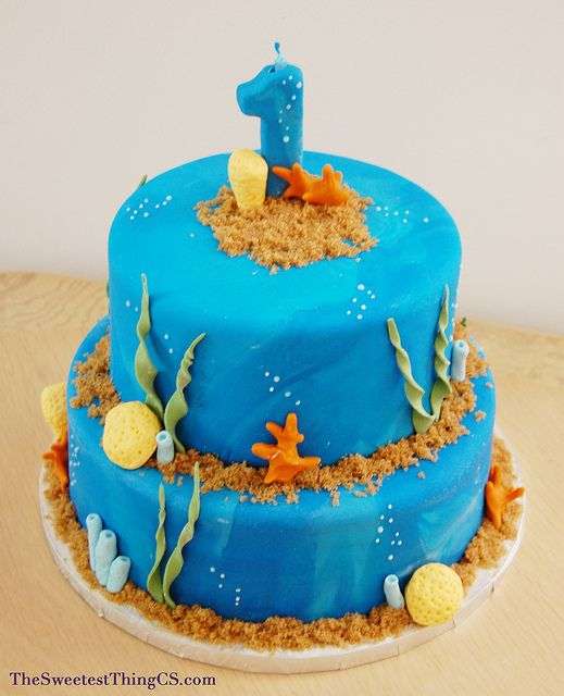 ocean cakes birthday | Recent Photos The Commons Getty Collection Galleries World Map App ...