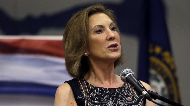 Carly Fiorina defended the use of waterboarding.  Scary!