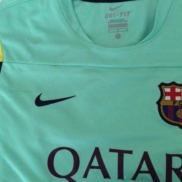 Nike Tops - Nike FC Barcelona training jersey