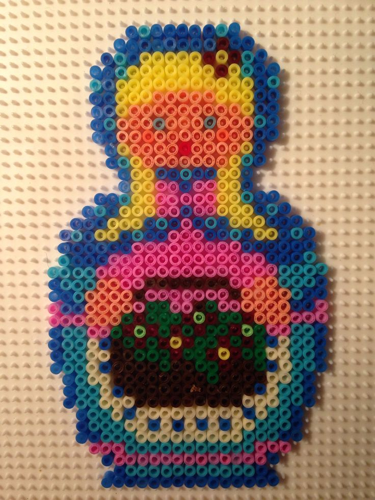 My version in Hama mini Made by Sisse Nielsen