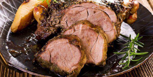 Piccole Ricette – Cosciotto di agnello al forno