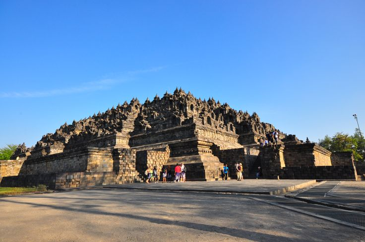 The temple of Borobudur, Indonesia - copyright architectureofbuddhism.com - read the travel diary at http://architectureofbuddhism.com/books/temples-borobudur-region-travel-diary-day-one/ #architecture #buddhism #indonesia