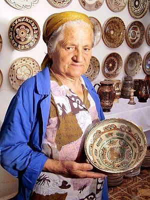 ...La cerámica artesanal de Horezu