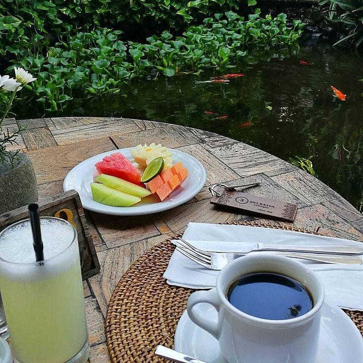 Good morning from paradise. @sriratihcottages