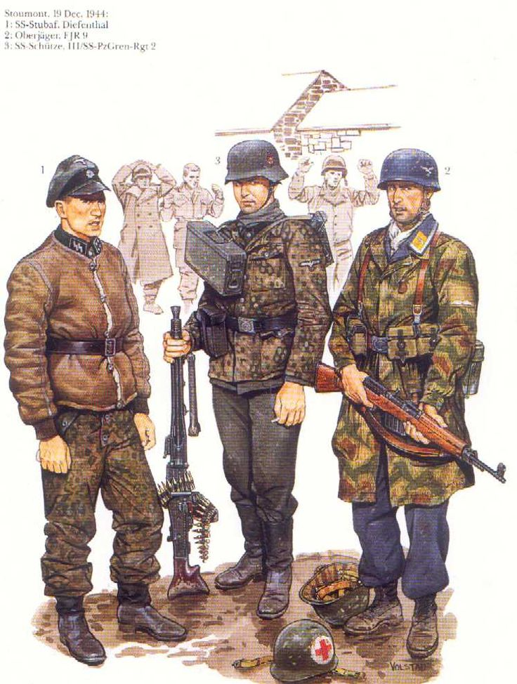 Historicus Forma :: Fallschirmjäger - blue or green?