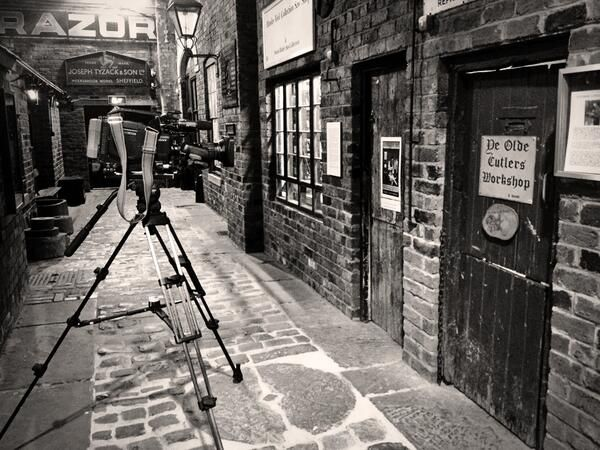 A step back in time down a cobbled street in Kelham Island