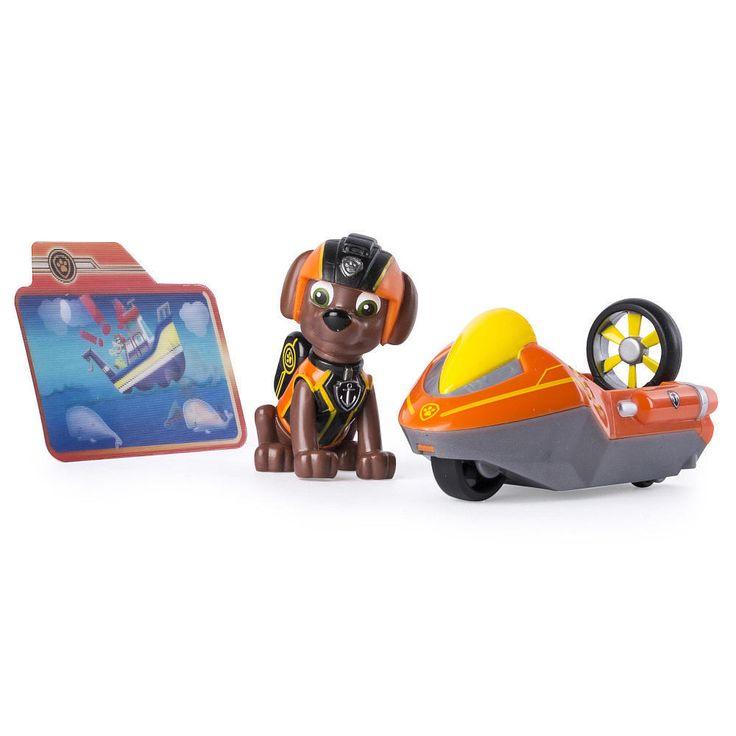 Paw Patrol Mission Paw Zumas Hydro Ski Figure and Vehicle Set