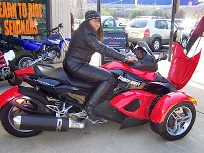 I Bought the Silver/Black: I love the Can-Am Spyder.  It is easy to ride.  I have been a rider since 1976.  It feels good to have the stability that I crave in my Seasoned Age of