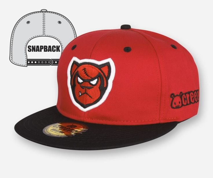 Snapback Big Gorilla Red - creepzshop