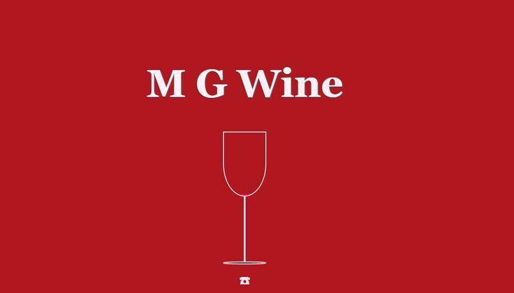 M G Wine http://bit.ly/MGWineshop