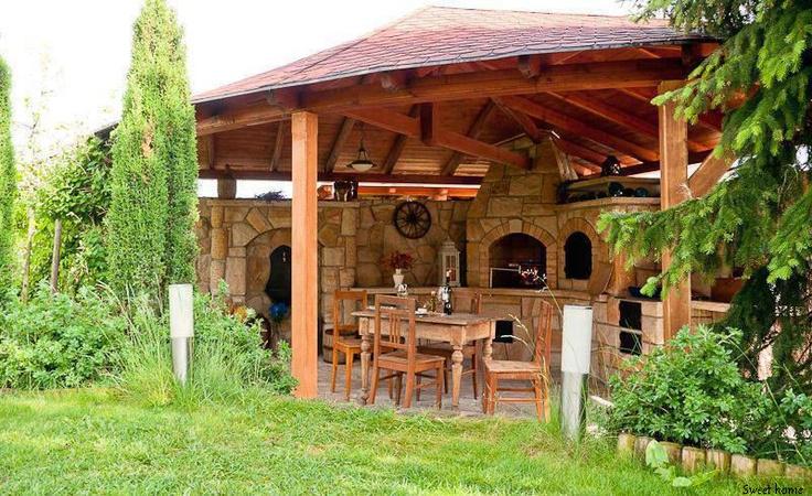 Ilu v lik k garden pinterest - Comment construire une cuisine exterieure ...