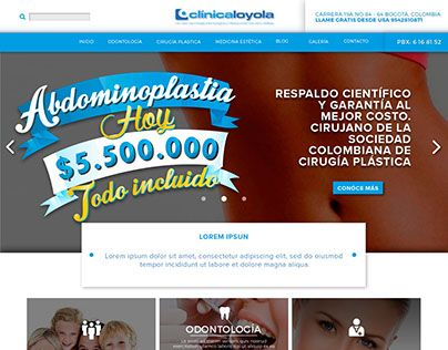 "Check out new work on my @Behance portfolio: ""Clinica Loyola Web design"" http://be.net/gallery/32293531/Clinica-Loyola-Web-design"