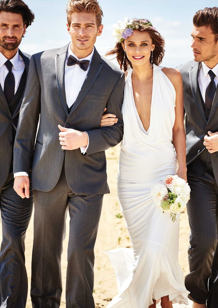 Grey Eternity Two Button Notch by Michael-Kors - Tuxedos