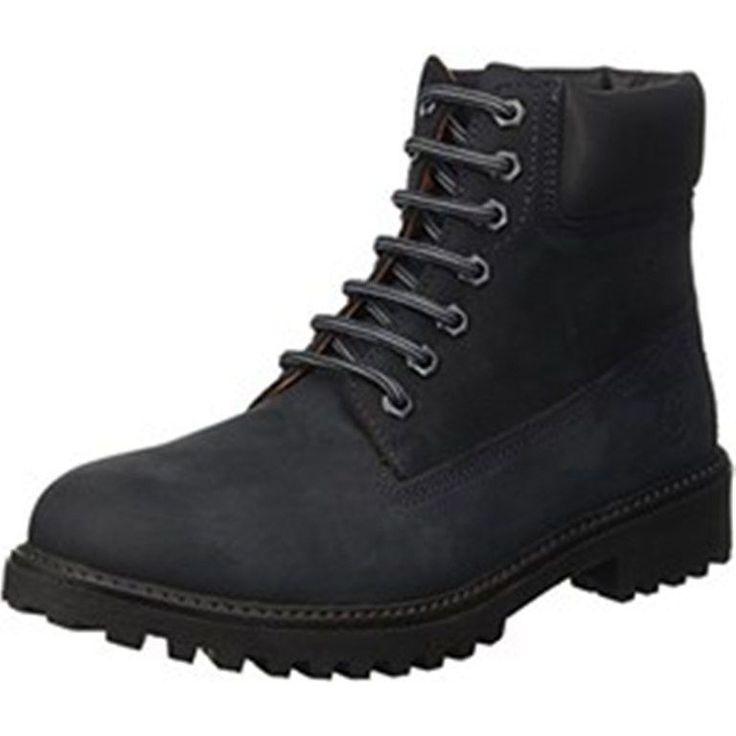 LUMBERJACK scarpe uomo stivali anfibi RIVER SM00101-002 blu-black, giallo-brown   eBay