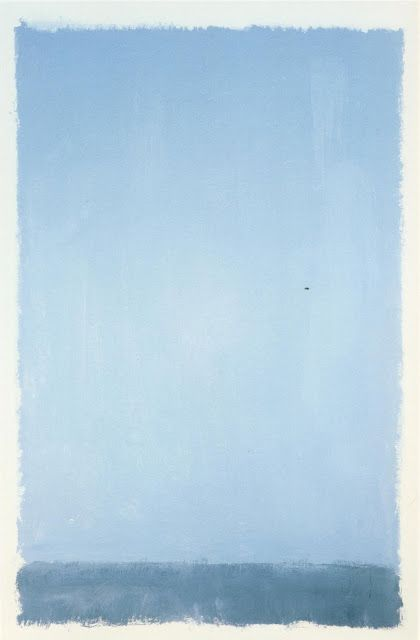 """""""... I'm not interested in relationships of color or form or anything else."""" Mark Rothko"""