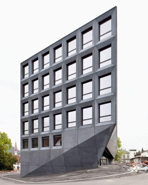 Christ  Gantenbein - Office building, Liestal 2011. Photos (C) Roman Keller.