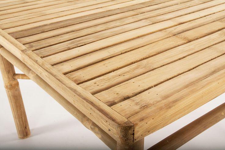 Bambu soffbord 45×45 cm