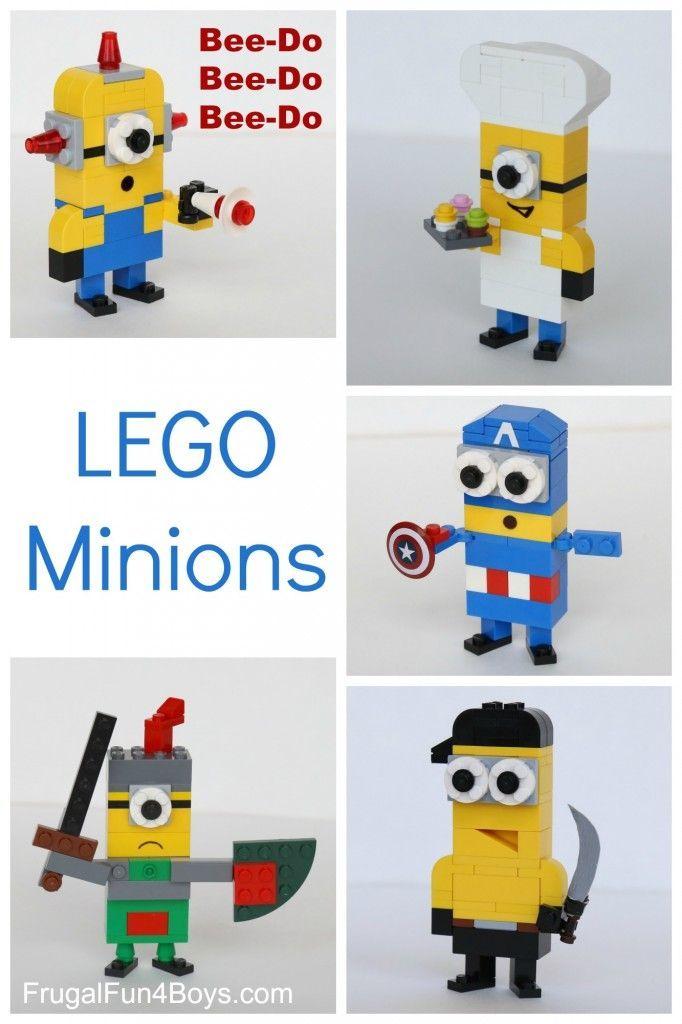 Best 25 lego minion ideas on pinterest one eyed minion - Notice de construction lego ...