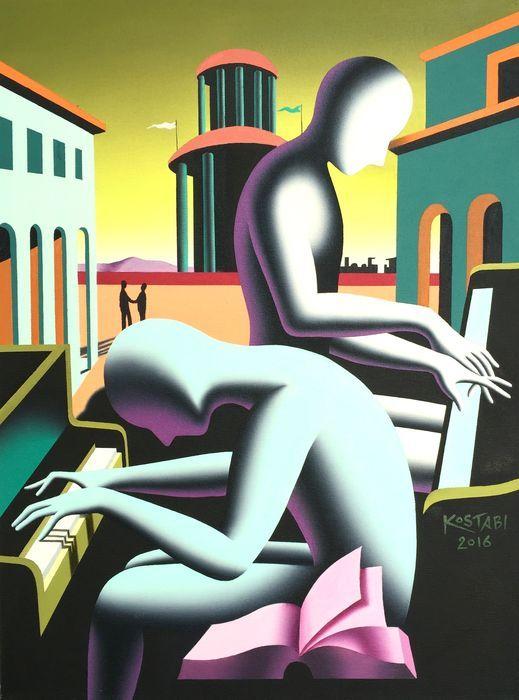 Mark Kostabi - Untitled