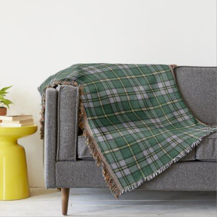 Cape Breton Island Original Tartan Throw Blanket - pattern sample design template diy cyo customize