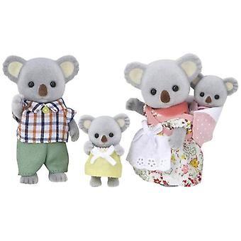 Epoken Sylvanian familier Sylvanian familien dukke 'Fs-15 familie Koala' (JAPAN IMPORT)
