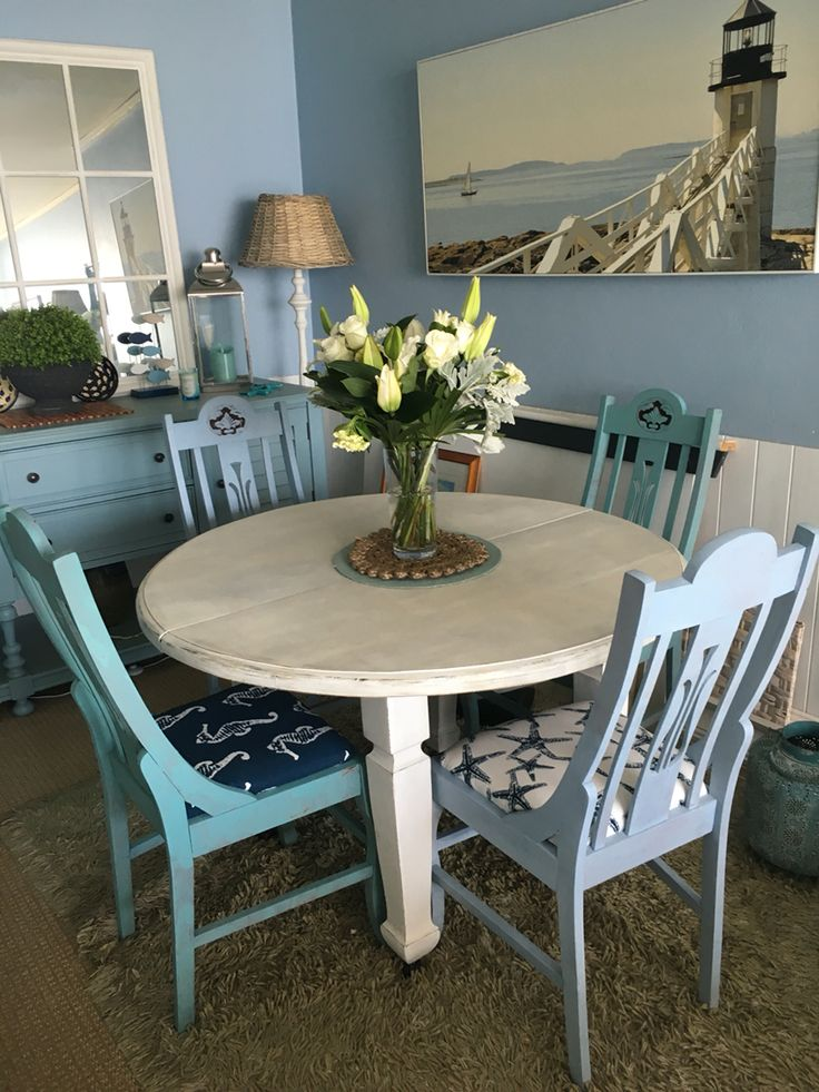 beach house decor cute dining area - Beach Cottage Decorations