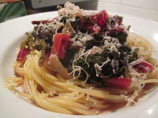 GLATZKOCHS WELT: Spaghetti mit Mangold in zwanzig Minuten