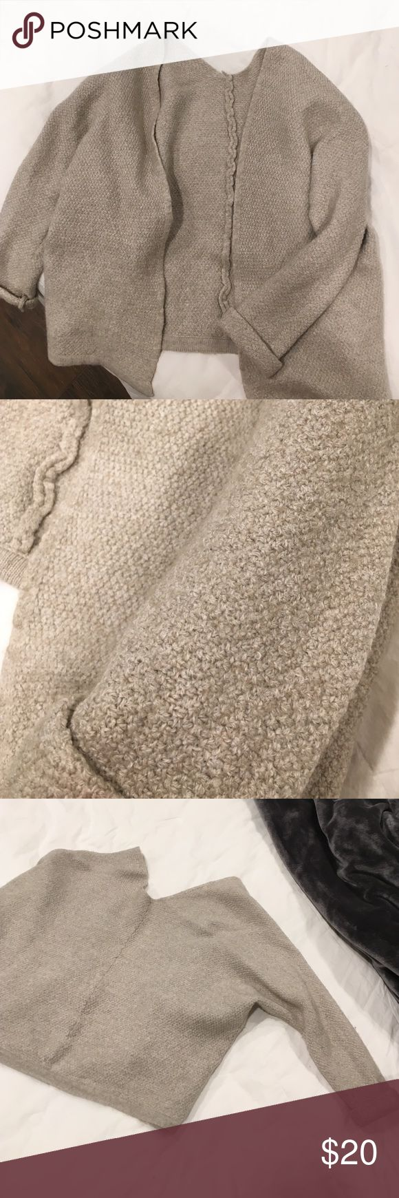 """Brandy Melville Cardigan Missing the Brandy Melville tag (thus price is compromised). Only worn once. Super comfortable. Fits """"one size"""", more like S/M. Brandy Melville Sweaters Cardigans"""