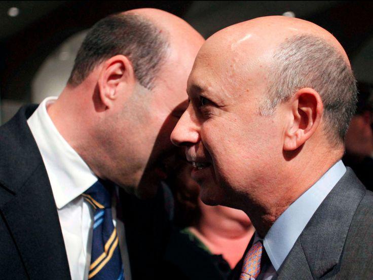 The Goldman Sachs power players behind Lloyd Blankfein