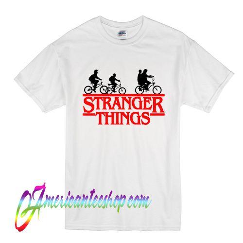 Stranger Things Bikes T Shirt