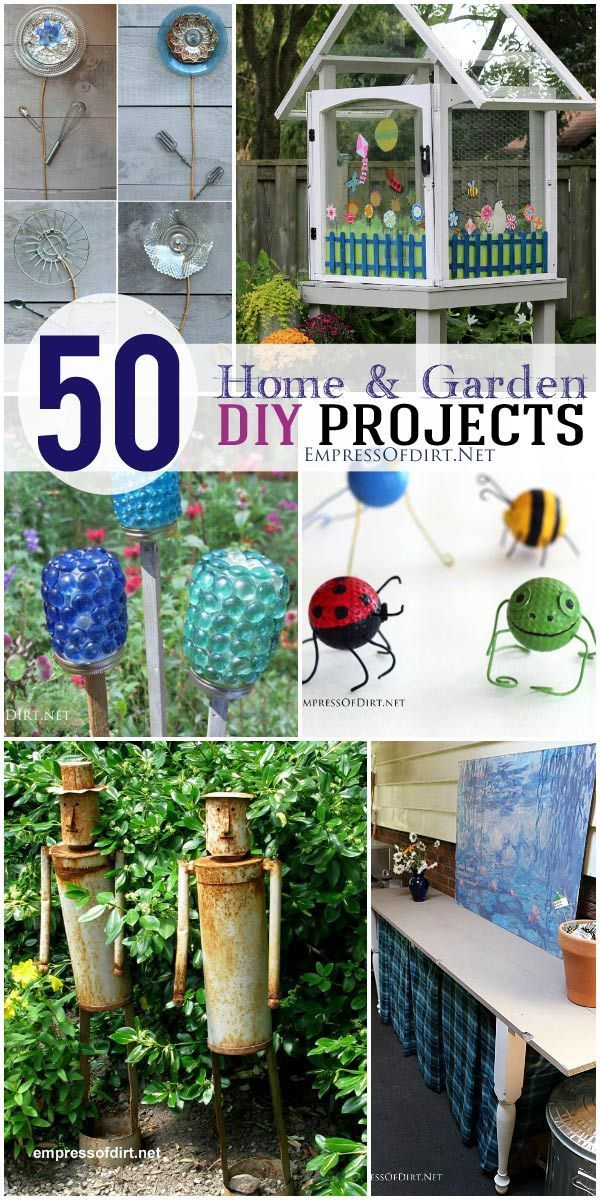 50 Home and Garden DIY Projects | Make something wonderful! empressofdirt.net