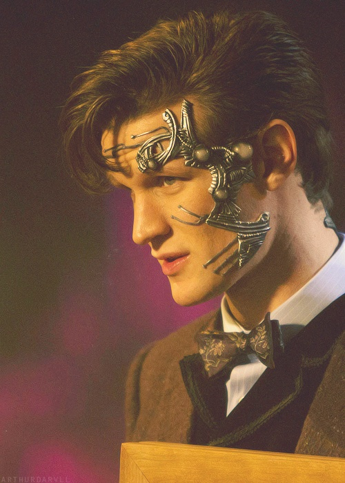 Nightmare in Silver- To me, this was one of the most frightening episodes. To see the doctor loose control of himself like that... That evil glint in his eye... It just makes me shiver.